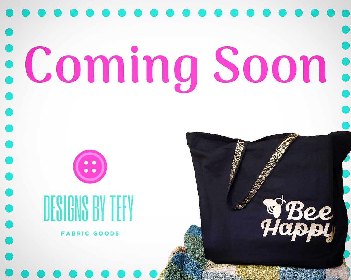 So excited to show you what I have been working on! 🤗🤩  #designsbytefy #shopsmall #handmade #supportsmallbusiness #madewithlove #madeinflorida #totebag #ditchplastic #gogreen #nomoreplasticbags