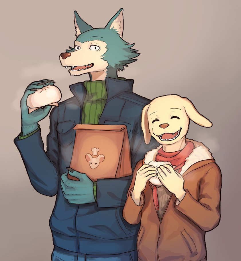I want to eat steamed buns. #BEASTARS <br>http://pic.twitter.com/9QVje2GdbQ