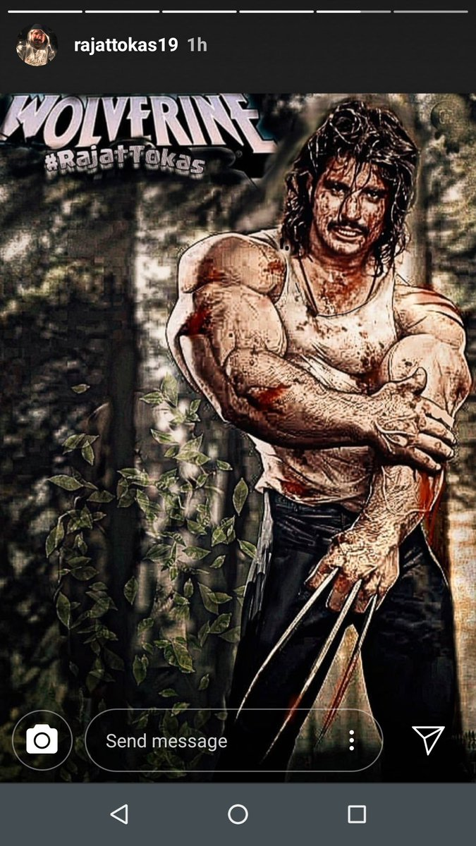 #rajattokasforwolverine #RajatTokas @RajjatTokas REQUESTING TO CONSIDER FOR WOLVERINE ROLE IN UPCOMING MUTANTS BY GIVING CHANCE FOR AUDITIONS @Kevfeige @MarvelStudios pic.twitter.com/DURjAmOsxY