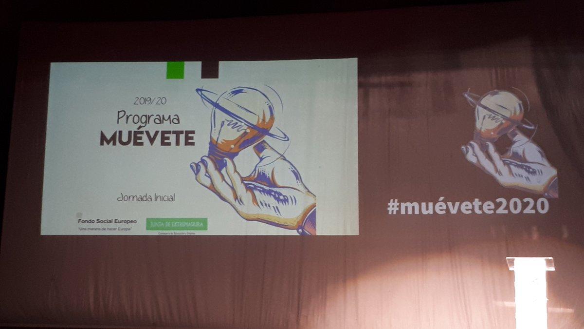 El pasado miércoles 15 , en la jornada inicial del proyecto MUÉVETE #muévete2020pic.twitter.com/0ECDrARtJ4