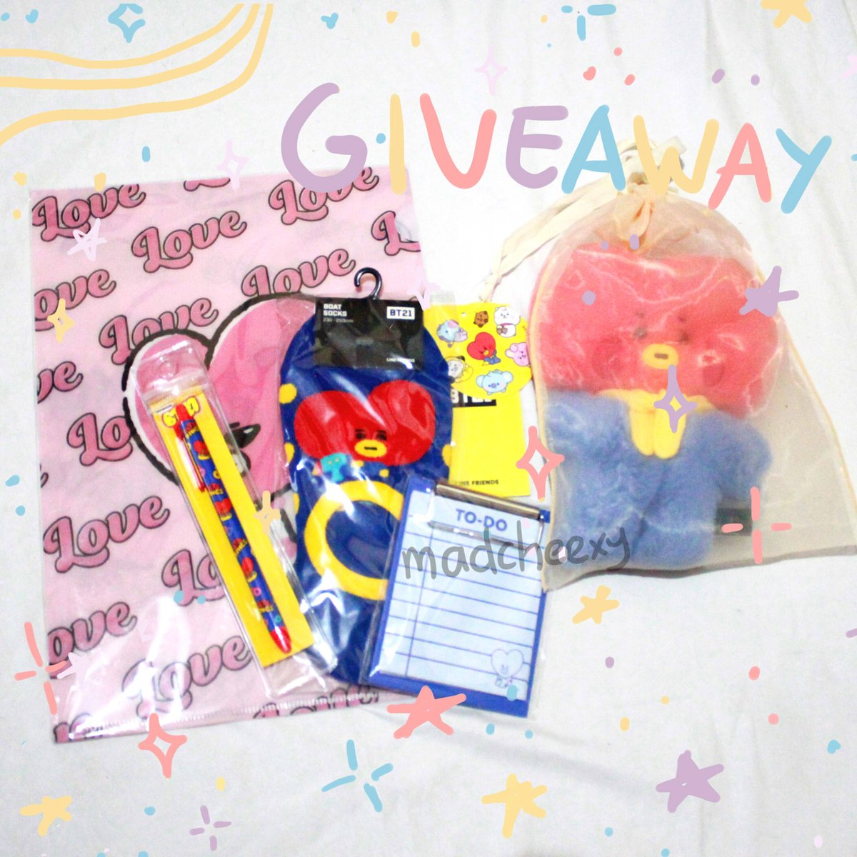 SHOP OPENING GIVEAWAY  Thank you for the support all this time! Here's a giveaway as my gratitude  Follow + RT to enter No giveaway account/private account Worldwide  My Shop:  https:// madcheexy.bigcartel.com /      https:// forms.gle/8oRRHc65ymk1E4 34A  …   Ends Feb 24, 2020  DM for GOs<br>http://pic.twitter.com/HQmeF15ekV