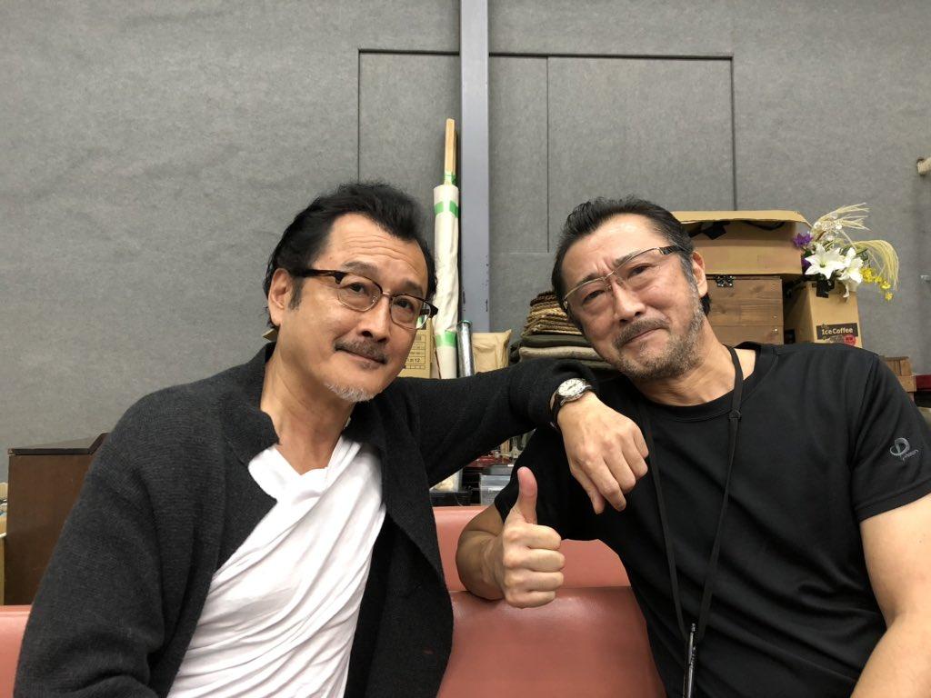 大塚明夫さんと吉田鋼太郎さん30年来のマブダチだとか#麒麟がくる