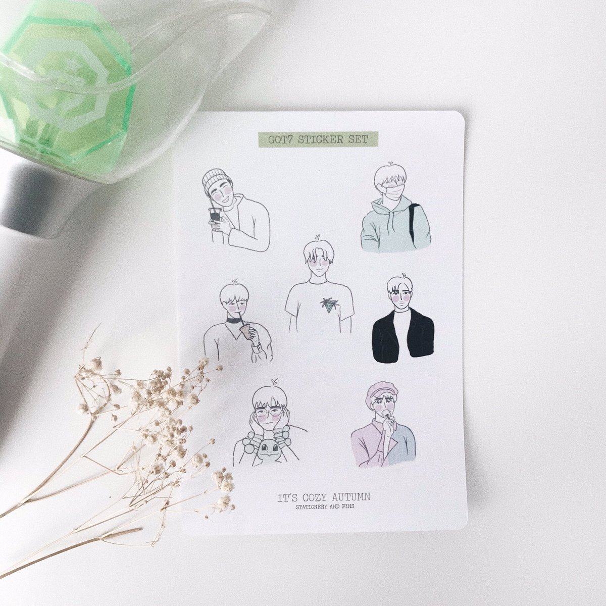I made some got7 stickers  you can buy it if you want to in http://www.itscozyautumn.bigcartel.com a rt will help a lot #got7 #got7stickers @GOT7Official #sticker #stickers #shopupdate pic.twitter.com/2PcHzMPcRL