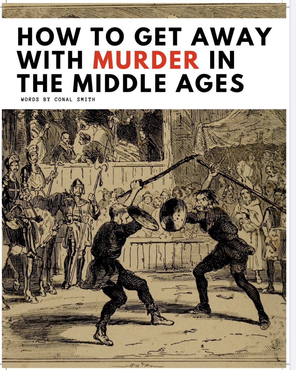 We are delighted that Mr Conal Smith - @prohistoricman - has an article entitled 'How to get away with murder in the Middle Ages' in the forthcoming edition of @inside__history Magazine. We just love History here @StChrisSnr! #StChrisHistorypic.twitter.com/KPmNVdui7Q