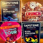 Image for the Tweet beginning: Sunday cask @UleyBrewery @HammertonBrew (crunch