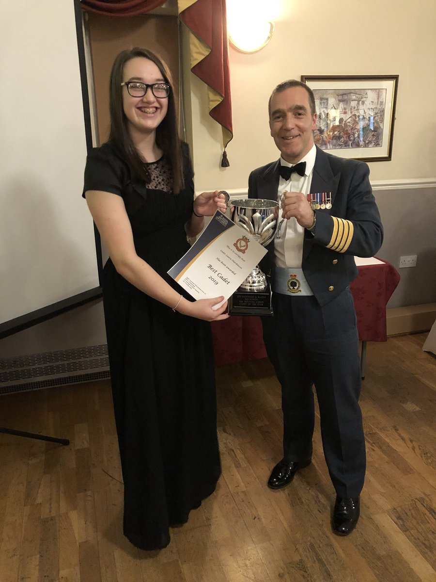 Best Cadet 2019 -Cdt Hutchinson Best NCO 2019 - Sgt Lloyd  Most improved Cadet 2019 - Cdt Smith  Cadets Cadet - Cdt Lloyd   Thank you @StnCdrCosford for presenting! We hope you had a good night with us! #team275 #alltogether #chance #opportunity #choice #aircadetspic.twitter.com/hoTWruveoq