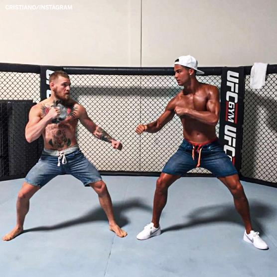 #ConorMcGregor #UFC246 #Ronaldo #CR7 #conor – at 成都理工大学 (Chengdu University of Technology)