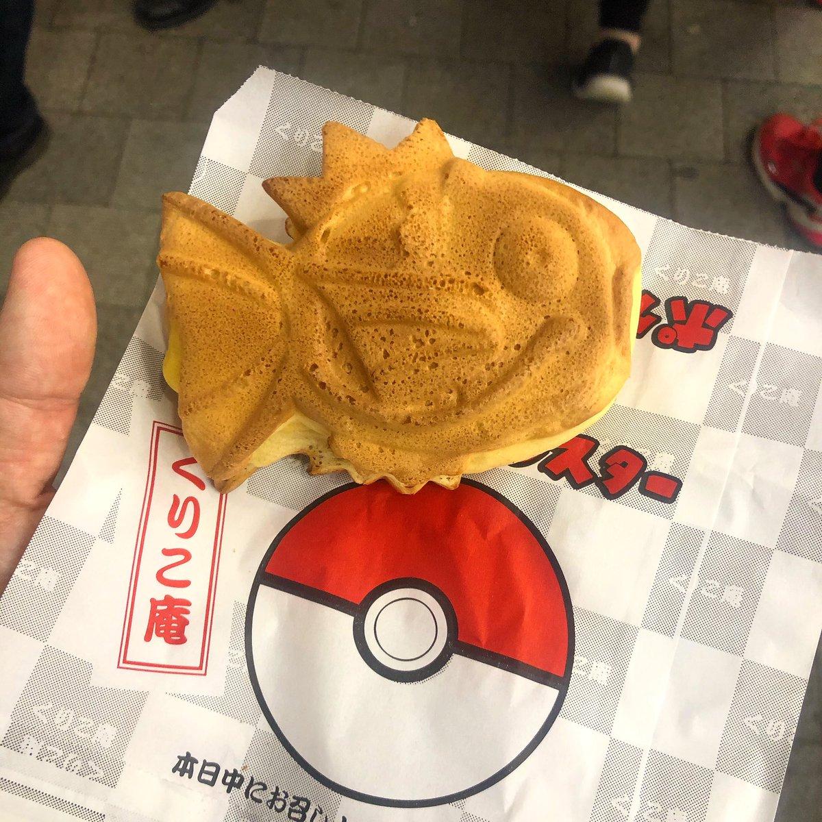 👱♂️Wusstet ihr eigentlich das ein Karpador mit Vanille gefüllt ist? 🤪#karpador #pokemon #akihabara #fun #nintendoswitch #japan #fandabidozi #gamefreak #games #food #nintendo #yummy #travel #cute