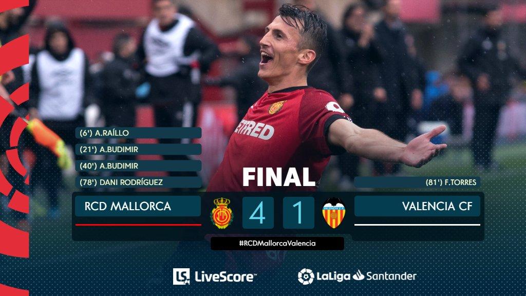Liga Valence Majorque