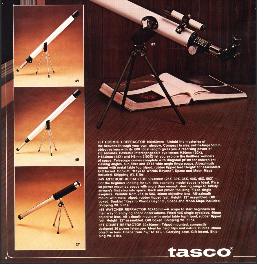 Cool! In einem Katalog von 1978 ist mein Dachbodenfund (Modell 4V) drin!   Ihr erinnert Euch vielleicht: https://twitter.com/astro_hippie/status/1193292124629979136…  Link zu den klassischen Teleskopkatalogen und mehr: https://wiki.telescopeclassics.com/wiki/Main_Page  Danke ans Forum Stellarum, wo ich den Link gefunden habe! pic.twitter.com/0qXjIbmxGC