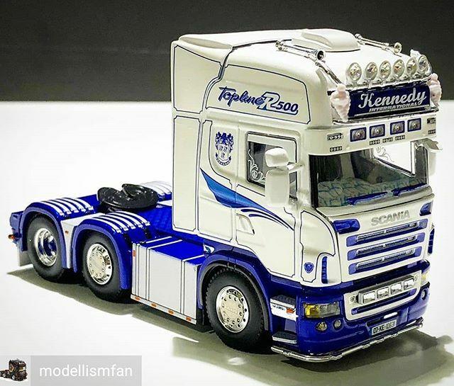 Reposted from @modellismfan (@get_regrann) -  #kennedyinternational#scania#scaniatruck#truck#showtruck#irishtrucks#toys#mypic#hobbymodel #vrachtwagen #camion#lorry#caminhão #trucksbrasil #modeltrucks#wsi#wsimodels#scalemodel#diecast#modellismfan #modelli… http://bit.ly/3amZJk4pic.twitter.com/B42dUBMHhn