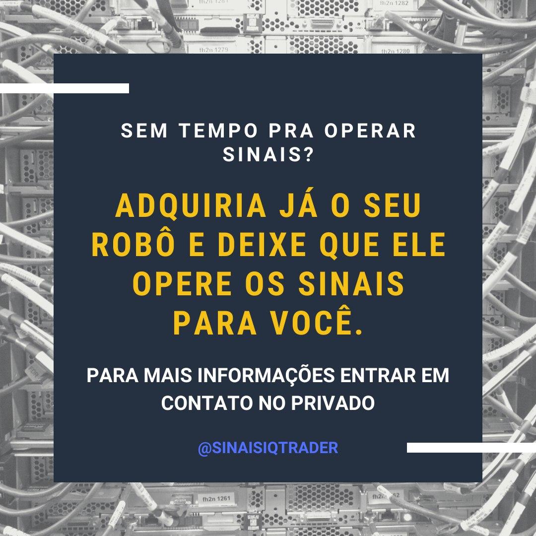 Robô de sinais #Trader #trading #Robots #money #sinais #iqoption pic.twitter.com/Li0a6VEfiN