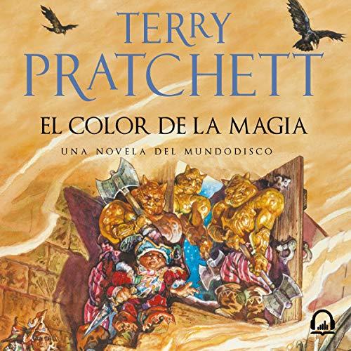 L1 - El color de la magia No había leído nada de Pratchett hasta ahora, pero después de ver la serie de Good Omens y sabiendo que Gaiman se me hace bola tenía que ver qué tal este hombre. Y oye, me ha gustado mucho, gracioso y con algunas pullas muy cachondas. pic.twitter.com/HKyf2P2dSt