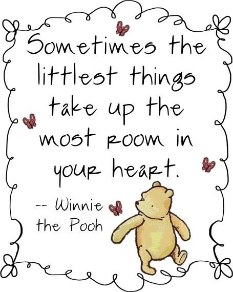 Happy Winnie the Pooh Day! #itsthelittlethings #WinnieThePoohDay