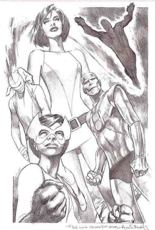 Doom Patrol by Alan Davis #comicart pic.twitter.com/WBB3C8poAF