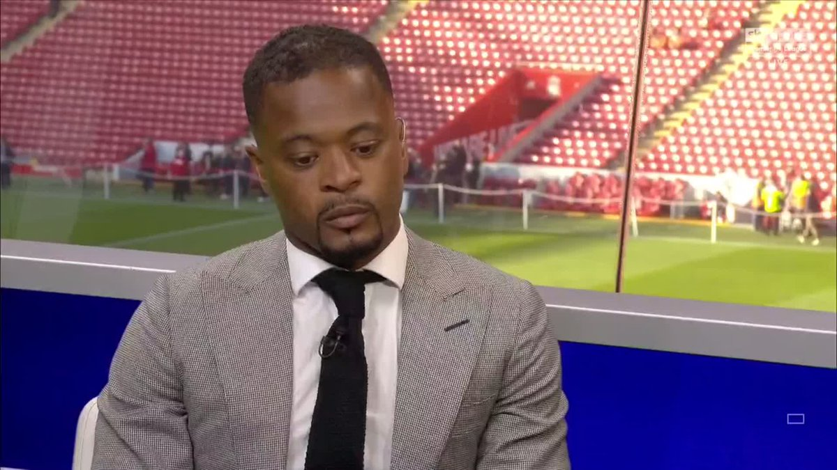 """""""I received a personal letter from Peter Moore. He said he hopes it's never too late. Now I see it's real honest people working for this club.""""  Patrice Evra reveals Liverpool sent him an apology for the handling of the Suarez-racism row, after his last Super Sunday appearance."""