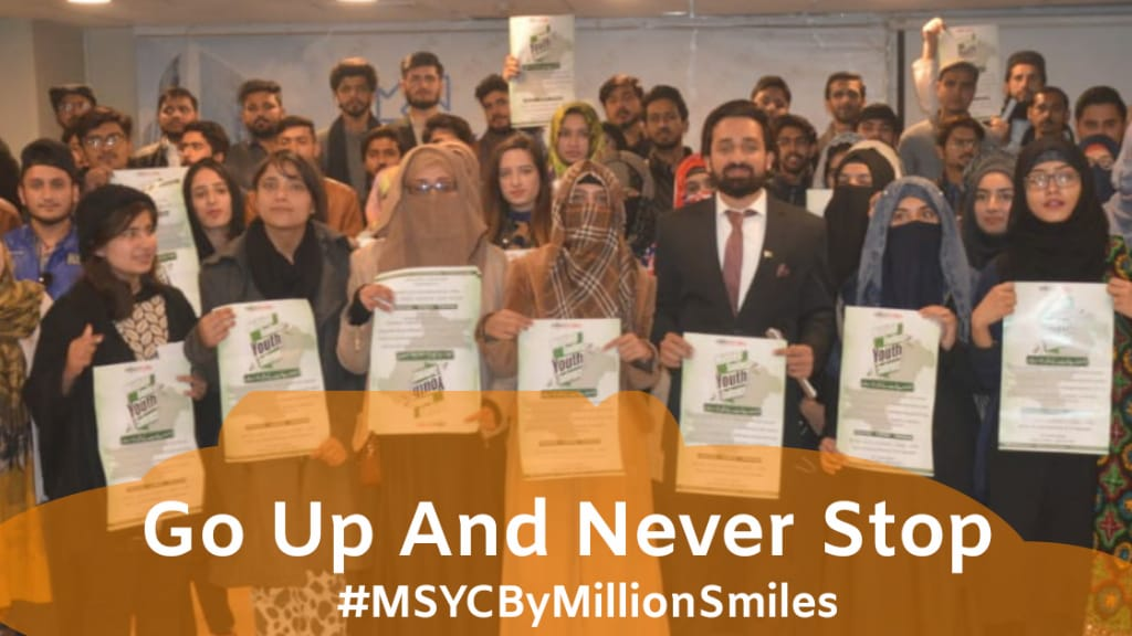 Always keep going up with MillionSmiles. #MSYCByMillionSmiles <br>http://pic.twitter.com/GdoBtbqh8K