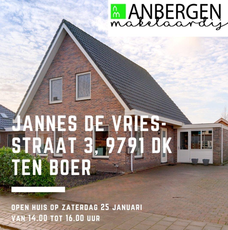 #tekoop Jannes de Vriesstraat 3 in #TenBoer. Meer info over deze fraaie vrijstaande woning vind je op #Funda