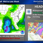 Image for the Tweet beginning: More Rainfall Mid-Week  Upper Rio Grande