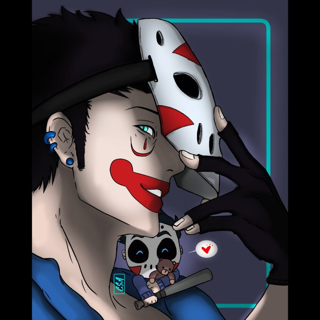 Fanart! @H2ODelirious with little delirious!  Will also be posting the time-lapse✨ . . #drawing #sketch #sketchbook #digitalart #illustration #artwork #art #fanart #youtubers #h20deliriousart #h2odelirious #clipart #coffeesipsart