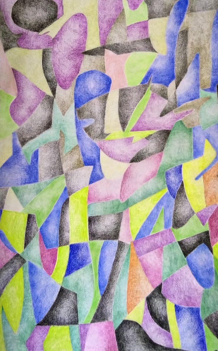 Fresh work: Abstract Background 01. #art #abatract #abstractart #colorful #drawing #contemporaryart