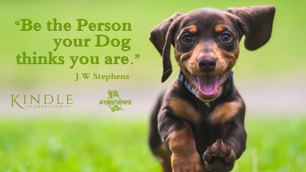 """""""Be the person your dog thinks you are."""" J.W Stephens #positivevibes #thetimeisnow #gogetter #motivation #life #motivationalquotes #lifestyle #giveityourall #makethechange #success #quotestagram #inspireothers #goals #quoteoftheday #alwaysstayfocusedpic.twitter.com/e3VafrB9Y3"""