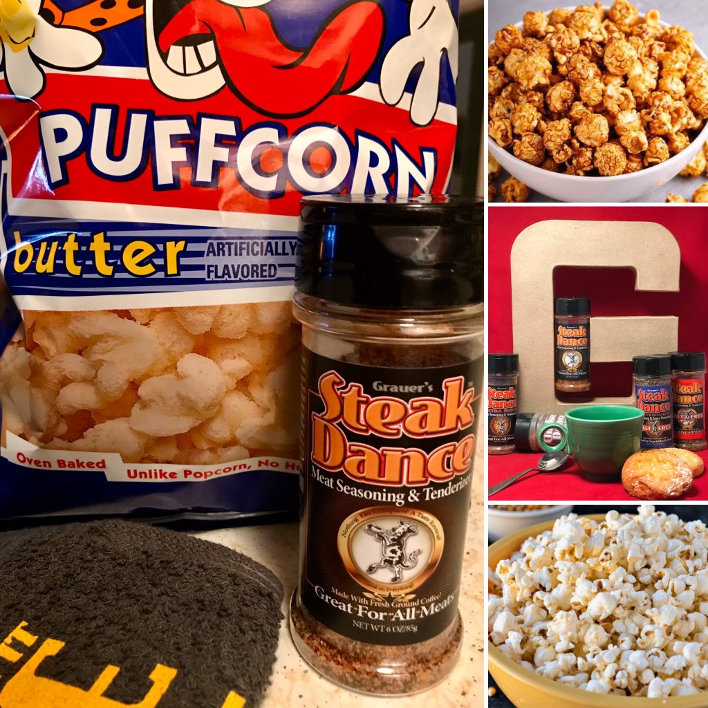 Good Sunday morning! Who's moving on to the Super Bowl? Make your predictions and get your popcorn ready because it's national popcorn day. Tennessee and San Francisco. Enjoy the games and have a great day. #SteakDance #Popcorn #NFL #Breakfast #Coffee #Grill #Bake #Broil #Season