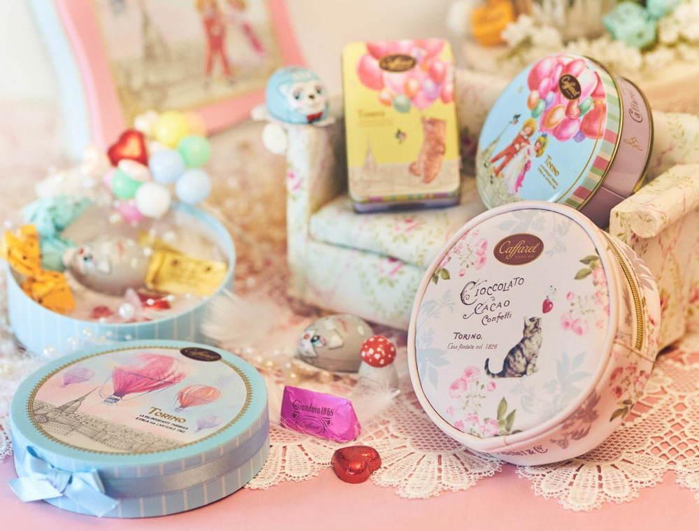 """カファレル""""猫&バルーン""""モチーフのバレンタインチョコレート、ジャンドゥーヤや猫のホイルチョコなど -"""