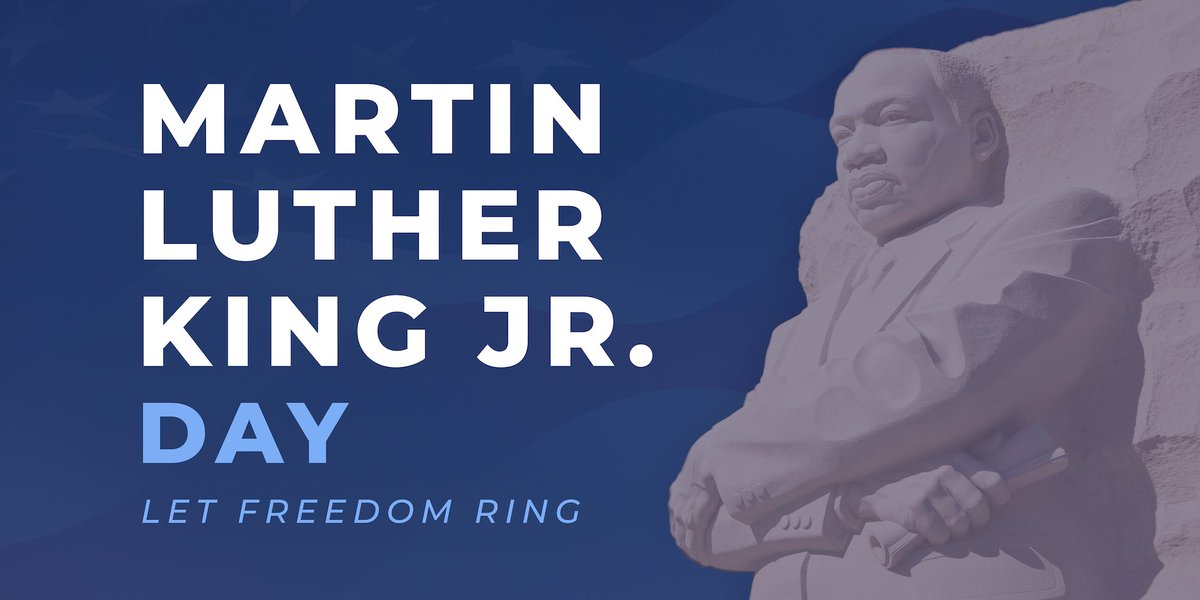 Today, we honor the life & legacy of Dr. Martin Luther King Jr. whose movement inspired a nation to pursue justice and equality.