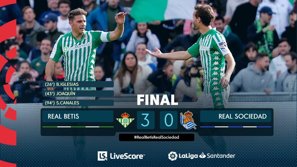 Liga Betis Real sociedad