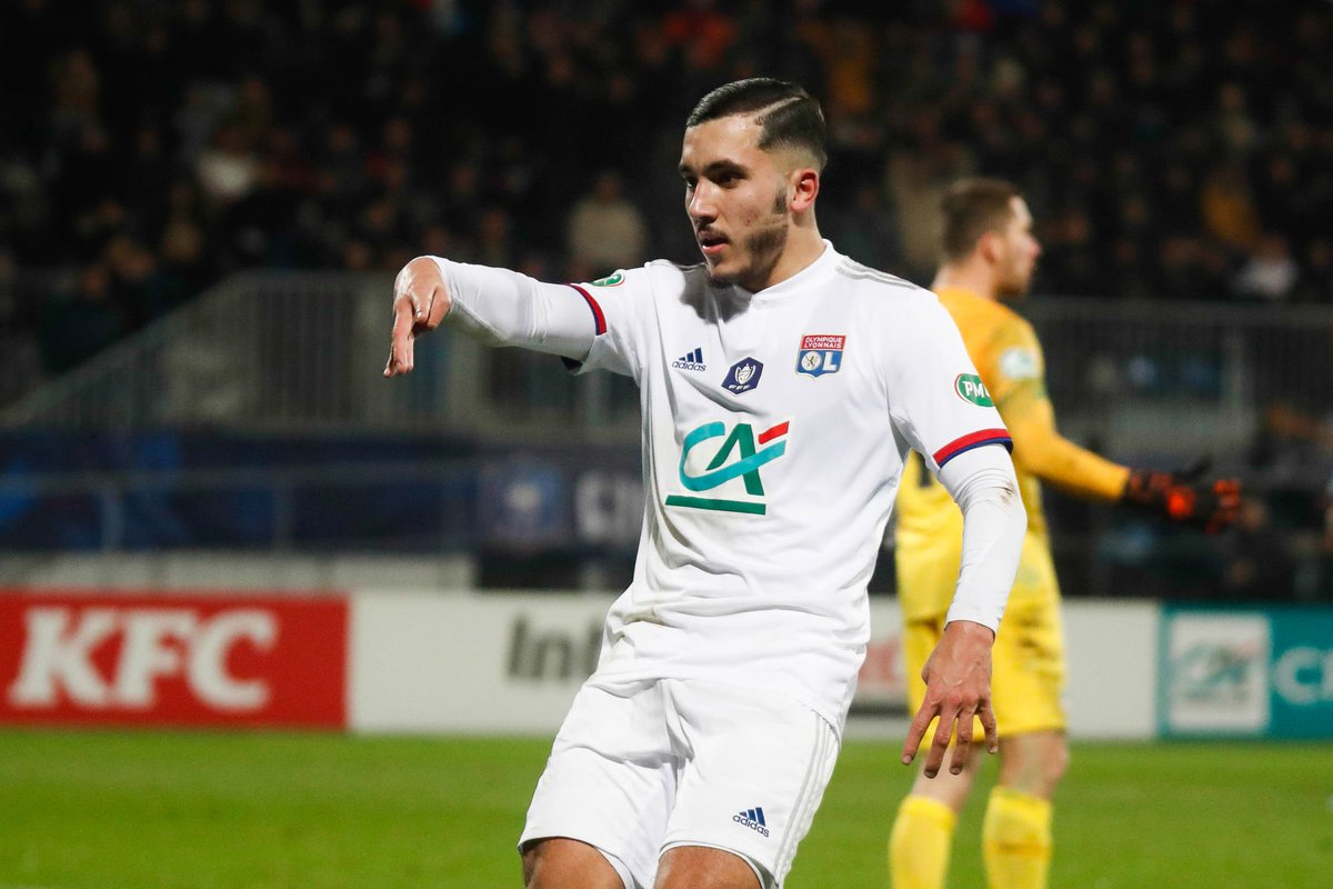 """FifaCMTips on Twitter: """"FIFO SCOUT: RAYAN CHERKI ⚽️ 16-year-old Ryan Cherki  scored 2 goals and gave 2 assists for Lyon in yesterday's cup match vs  Nantes (4-3 win) 🔥 Not in #FIFA20"""