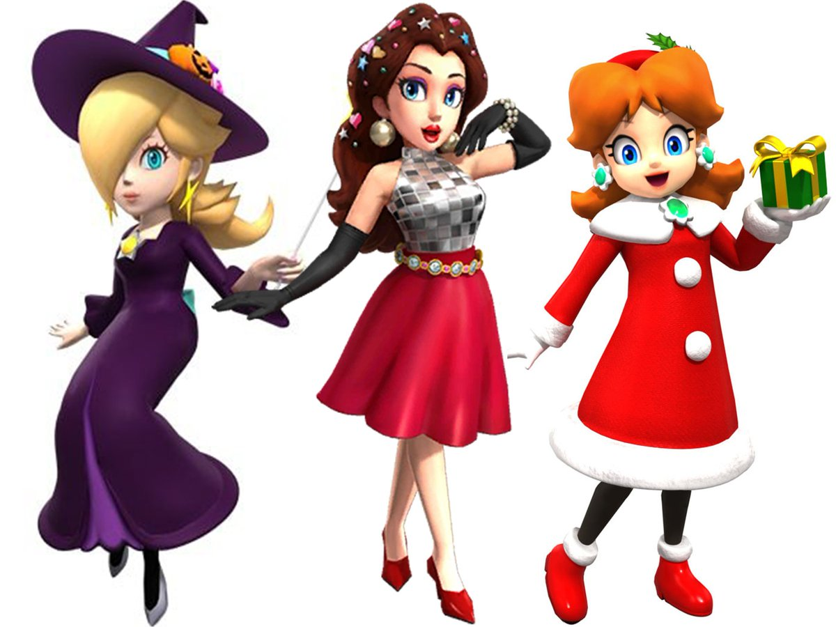 We Are Pauline On Twitter Yes Her Design Was Polished Between Mario Odyssey And Mario Kart Tour In Odyssey She