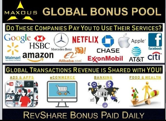 MAXOUS is a Social Network that pays us to post, comment, like, share videos and photos.  See for Yourself how MANY Members Earn DAILY here at MAXOUS !  Create FREE Profile Today & Get YOUR Discount On Life!!!     ==> > http://bit.ly/360rMnopic.twitter.com/edoTxOmyGk