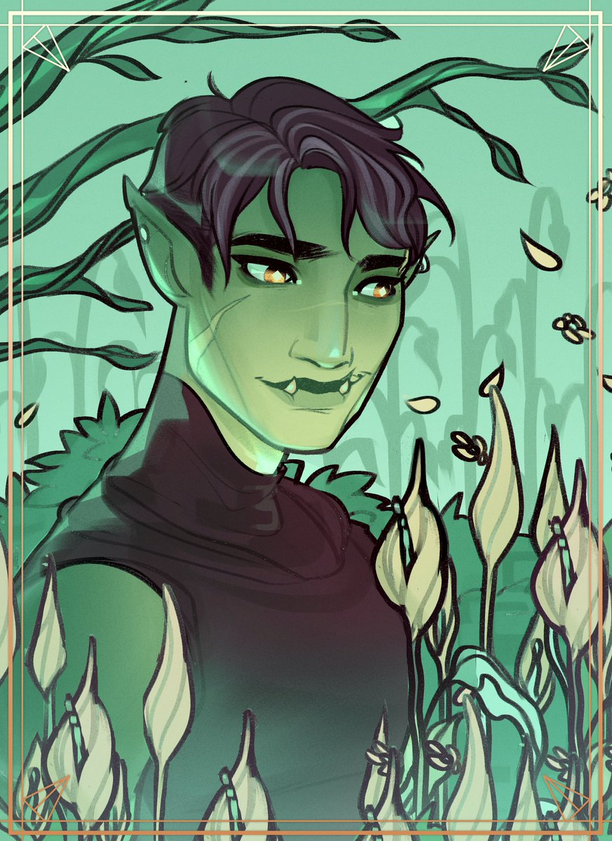 I doodled a gentle Fjord ___ #criticalrolefanart #Criticalroleart<br>http://pic.twitter.com/gwN6FkRXxd