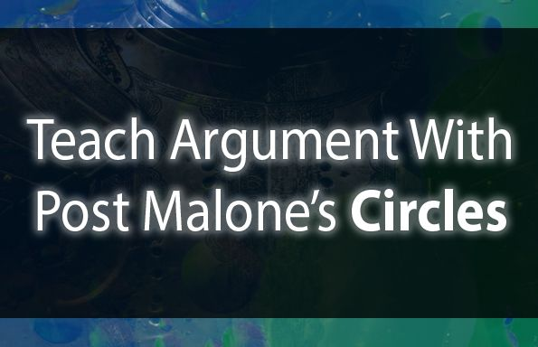 "Really excited about this one.  Teach Argument with Post Malone's ""Circles.""  A complex argument about relationships and circular conflicts that students are going to be SO eager to sink their teeth into! #engchat #aplangchat #2ndaryela #teachwriting  https:// buff.ly/2RufA7O     <br>http://pic.twitter.com/k8CPq0wU2e"