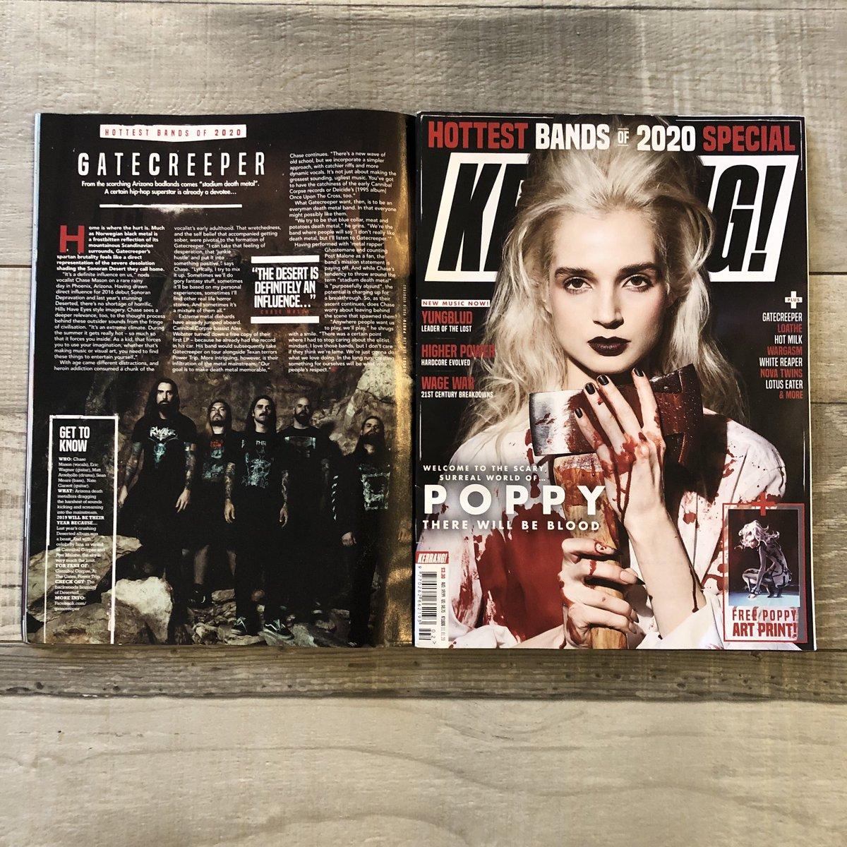 Thank you @KerrangMagazine