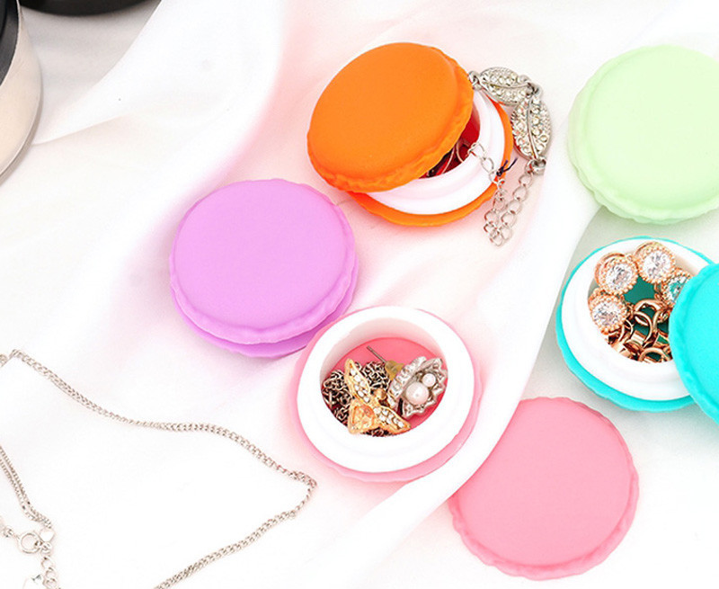 Candy Macaron Jewelry Storage // Shop:  #Jewelry #JewelryBoxes #Awessories