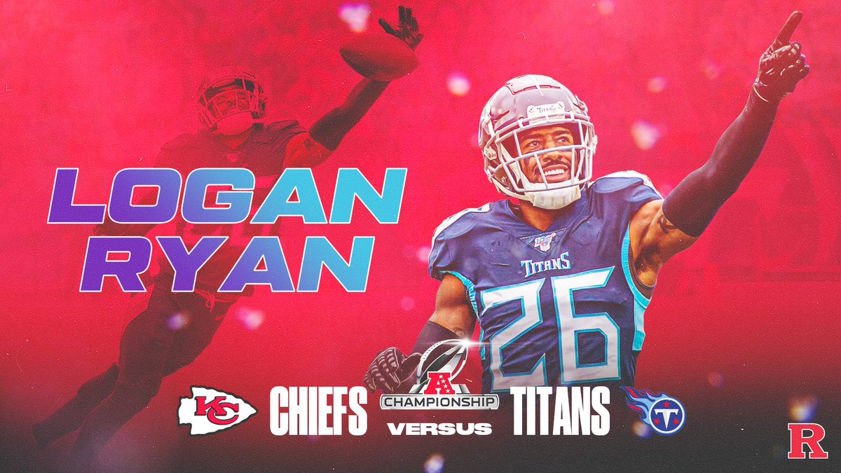 Good luck in the AFC Championship game today, @RealLoganRyan! #CHOP🪓