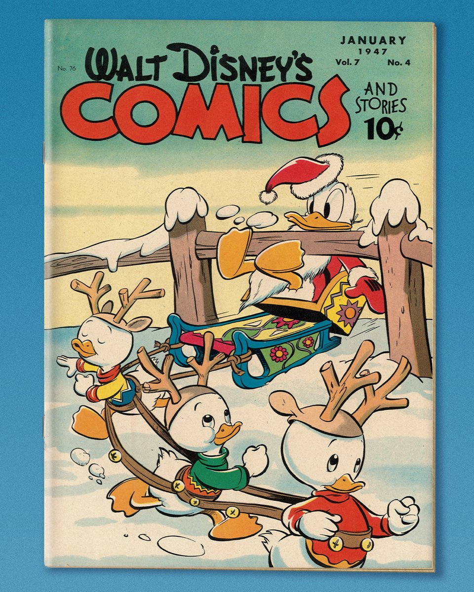 Warm up with a little laughter courtesy of Donald Duck.