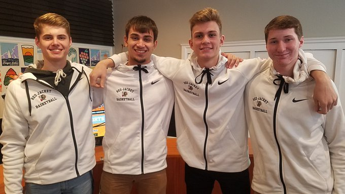 Red Jacket boys basketball in-studio .::. Upstate Hoops Podcast 1/19/20
