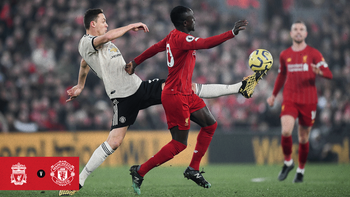 #MUFC have work to do at Anfield, with just over half an hour played.  #LIVMUN