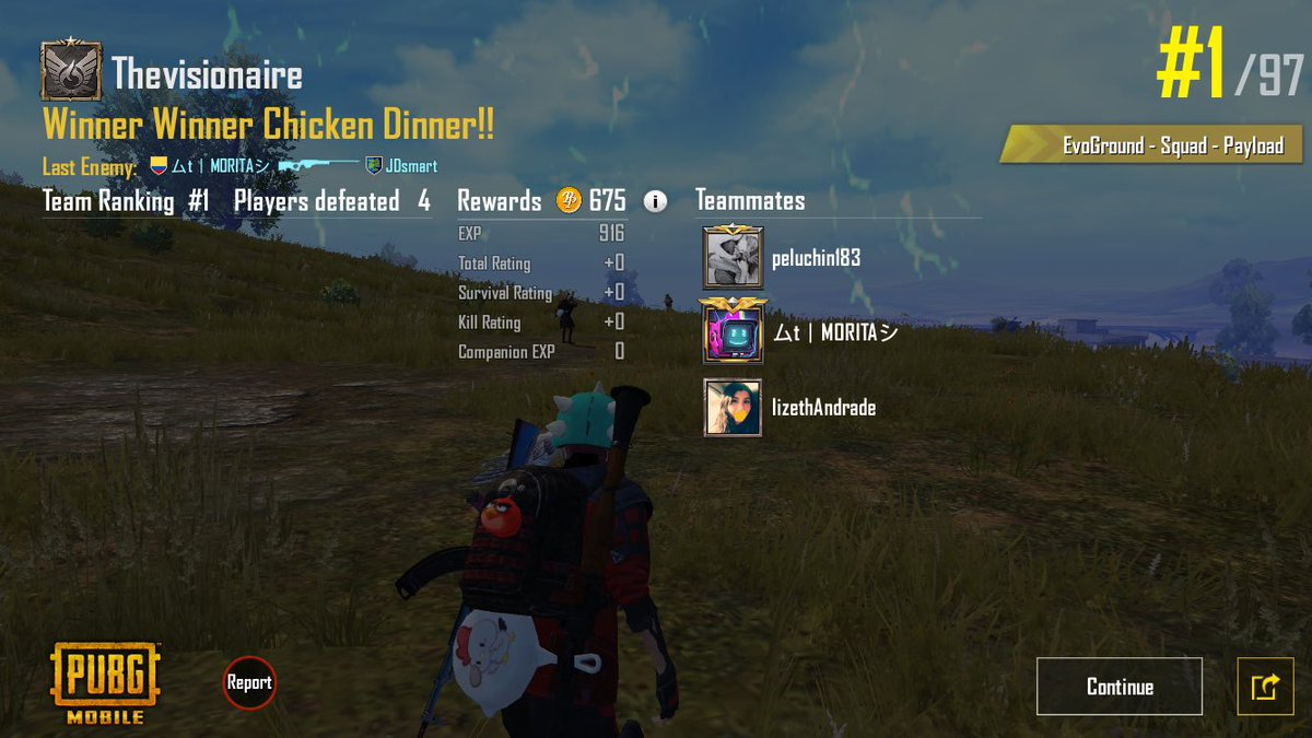 Great people join our team, no matter the clan tag, all this is fun, http://twitch.tv/thevisionaire1 Follow me if you dare!#PUBG_MOBILE #pubg #PUBGMOBILE  #PUBGclips #gamers #fun #Twitch #ThisIsBattleRoyale #gamergirl #PUBG履歴書 #PUBG募集 #PUBGモバイル #pubglatino pic.twitter.com/AxTok9zfjX