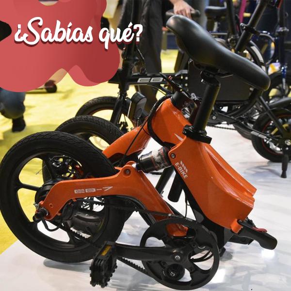 El 8 de enero en la CES 2020, realizada en Las Vegas, se presentó una bicicleta eléctrica plegable Swagtron EB-7. Será una alternativa más práctica y ecológica para viajar.  #Curiosidad #Dato #FunFact #Facts #Web #DiseñoWeb #Design #Hosting #Dominios #SocialMedia #WebDesignpic.twitter.com/eYRZ7ZQ1ws