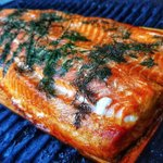 Would a planked Salmon on the BBQ make your weekend? It has mine! 😋 🐟 🐟 📷 @gourmetbrewerdoc Epic cedar planked salmon... I rubbed this full side with a gentle cure of maple sugar & @murrayriversalt & seasoned it with white pepper & fresh dill.