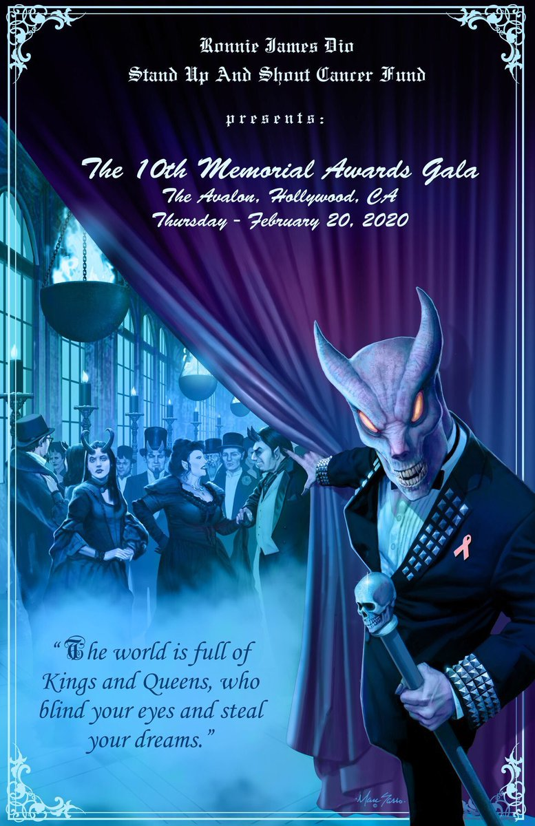 2020 Ronnie James Dio Memorial Awards Gala