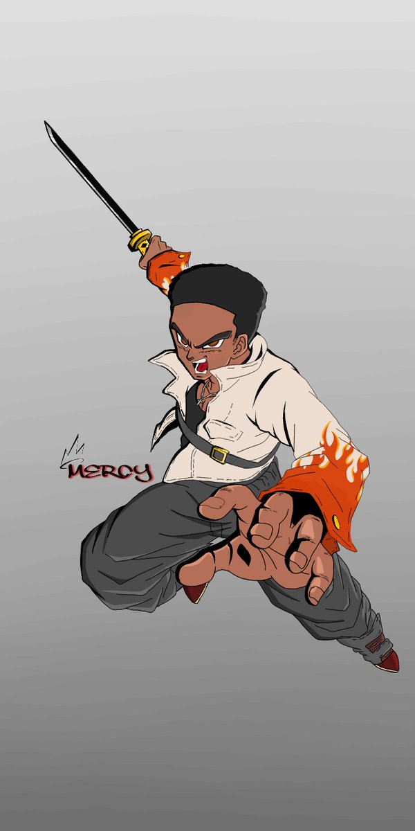 DBZ edit of an image of Trunks... Image is actually from #dokanbattle #dbzedit #DBZ #artistsoninstagram #artwork #drawingwhileblack #artofinstagram #digitalart #illustration #illustratorsoninstagram #art #drawdrawdraw #blackart #blackartists pic.twitter.com/mN9wBP6jGO
