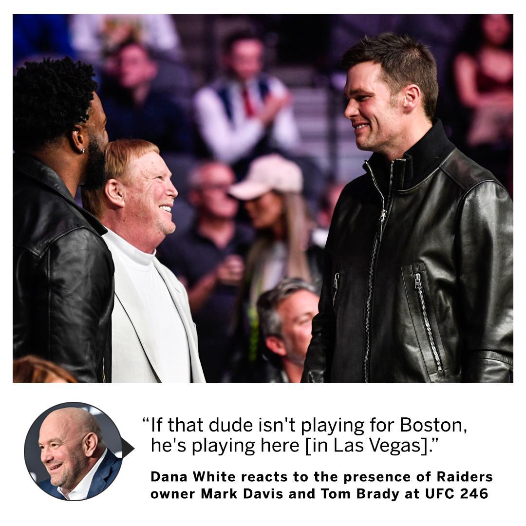 Dana White has a bold prediction about Tom Brady's future.