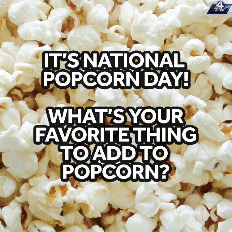 Hmmm what do you like to add on popcorn? Is it salt? Butter? What do you like? 🍿🧈🧂 #nationalpopcornday