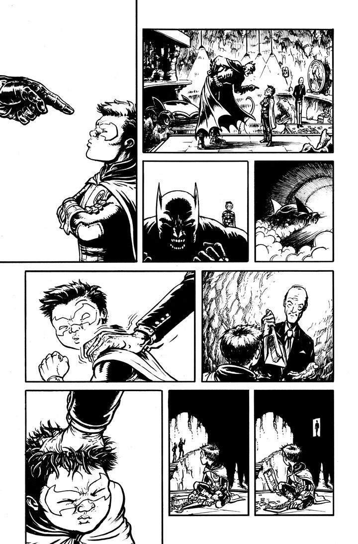 DC Comics Batman Pennyworth R.I.P.
