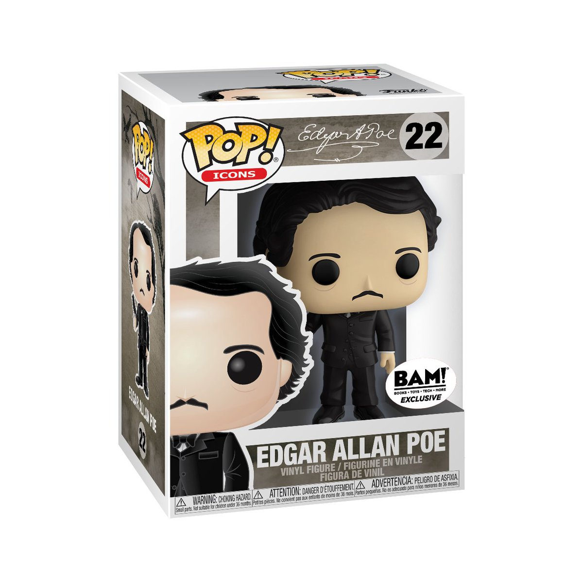 Happy Birthday  to Edgar Allan Poe!  RT & follow @OriginalFunko for a chance to WIN a @booksamillion exclusive Edgar Allan Poe Pop!  #Funko #FunkoPop #Giveaway #pop #exclusive #EdgarAllanPoe #HBD<br>http://pic.twitter.com/qJDpn5z3On